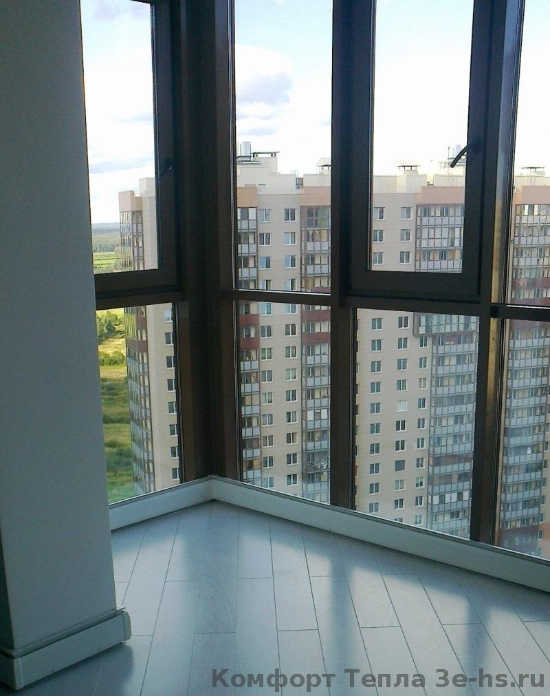 Кабинет на балконе холодно. - купить стекло, двери и окна - .